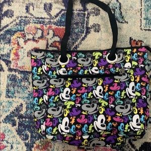 Mickey Mouse tote bag from Disney World used once